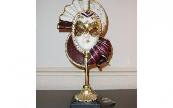 Baroque House of Classics Classical Baroque style mask - DECOVISTA