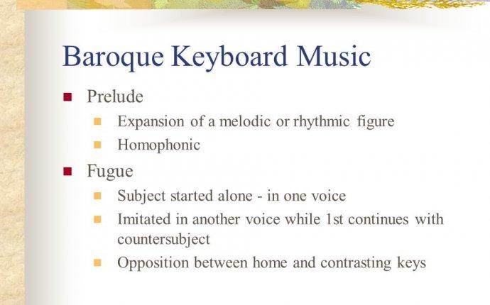 Baroque Instrumental Music - ppt download