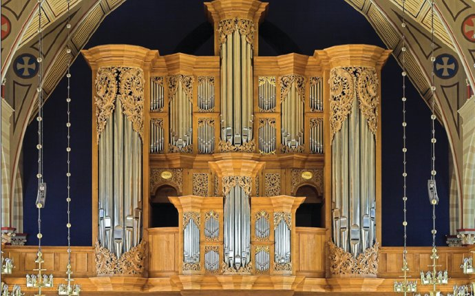 New Baroque-style organ constructed using Baroque technology