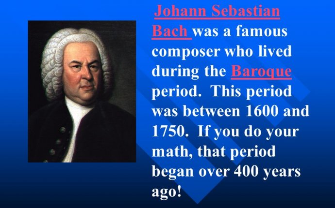 THE BAROQUE PERIOD OF MUSIC - ppt download