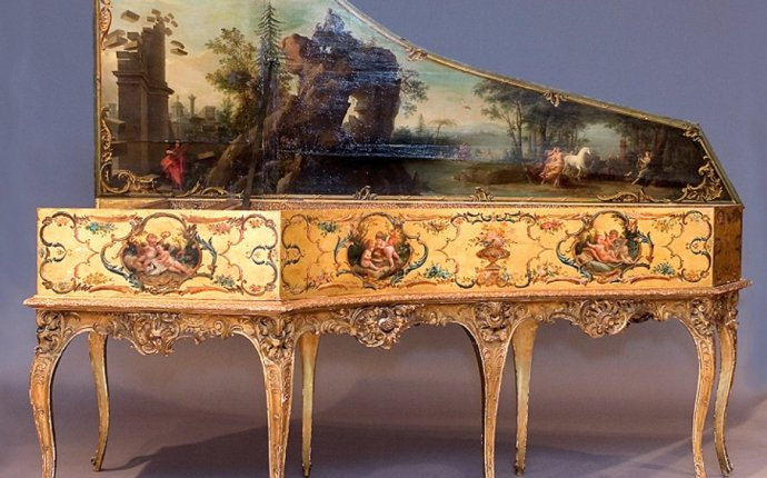 The most beautifully elaborate instruments from the Baroque
