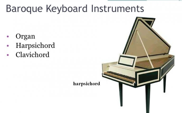 Baroque Keyboard instruments
