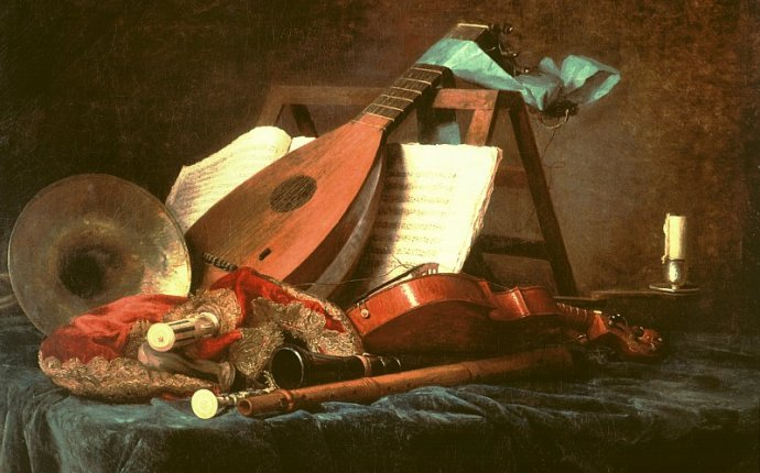 baroque musical instruments